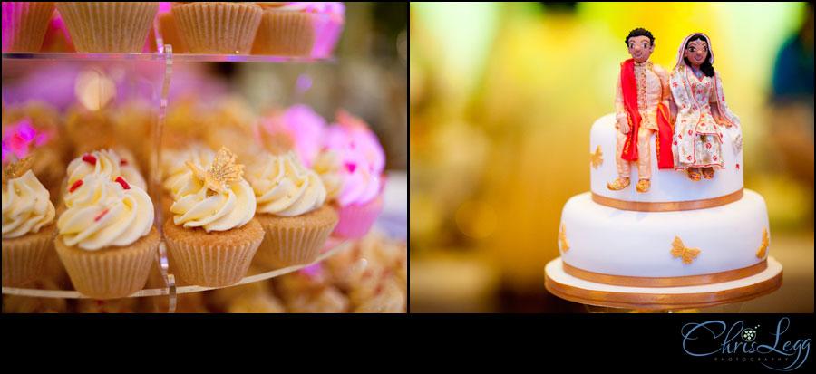 Cake Shots from a Wedding at Renaissance Chancery Court