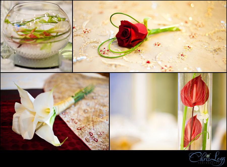 Flower Shots from a Wedding at Renaissance Chancery Court