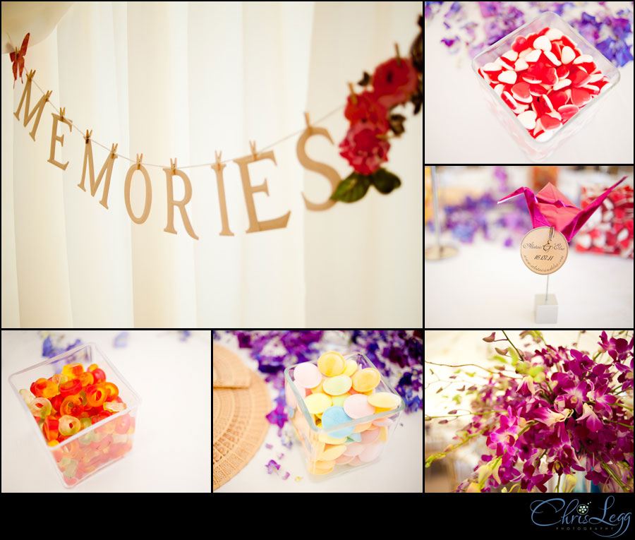 A collage of detail shots from a Burrows Lea Country House wedding