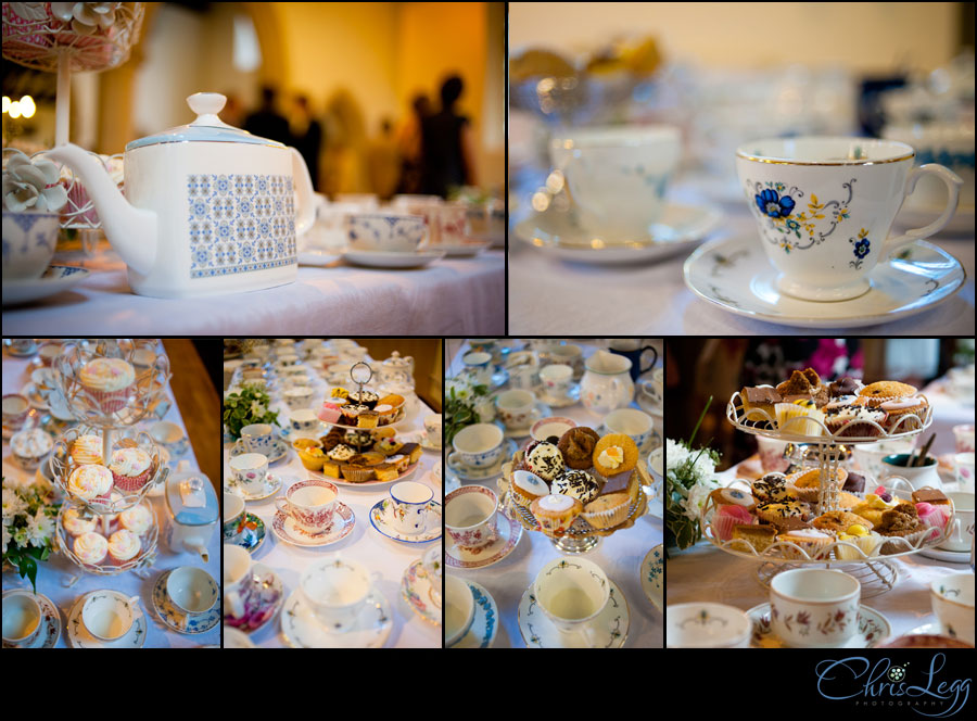 Wedding Photography in Hampshire Tea Party Collage