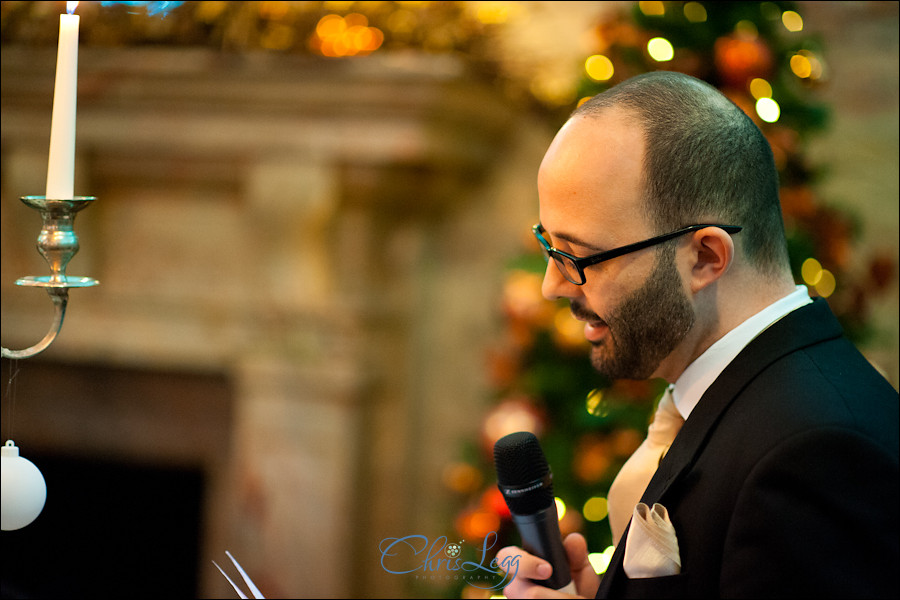 A Christmas Themed Wedding at the Hotel Russell in London