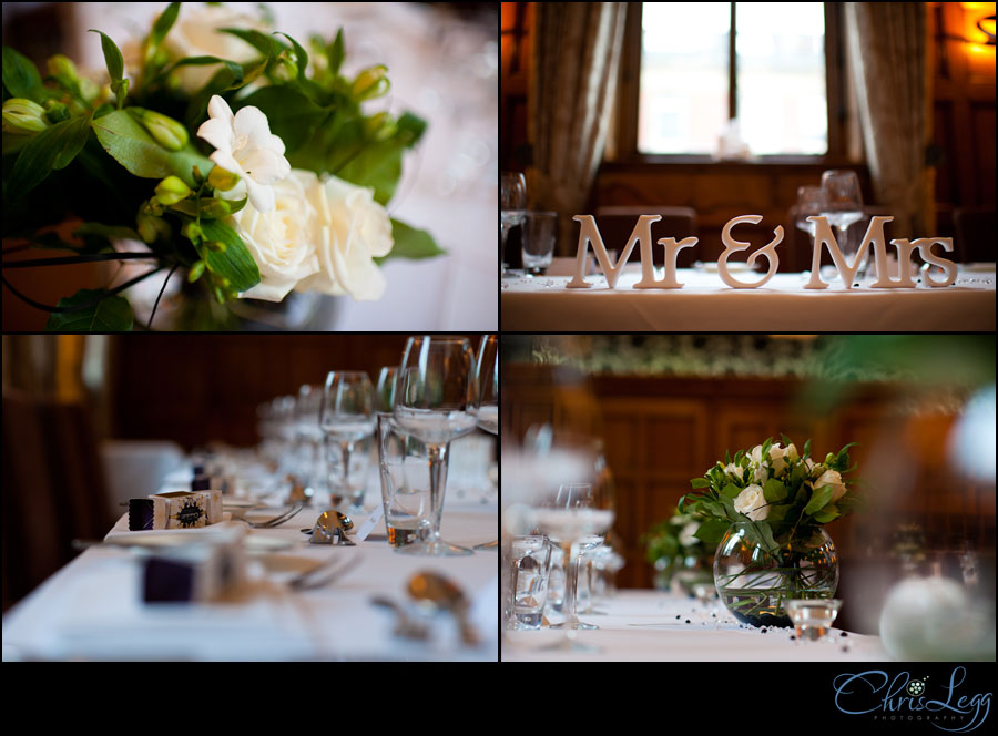 Wedding Flowers and Table Dressings