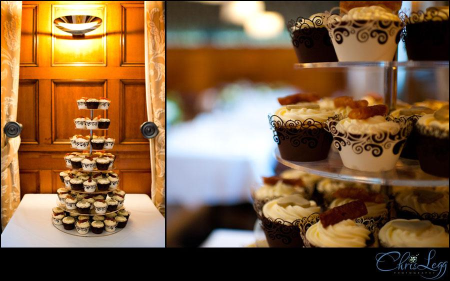 A Multi Tiered Cupcake Wedding Cake