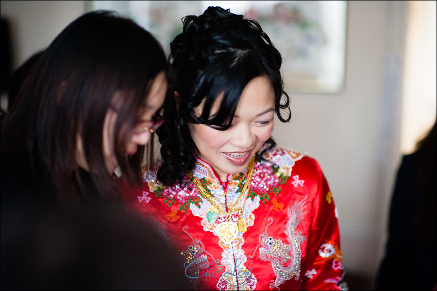 Traditional Chinese Tea Ceremony and Landmark Hotel Wedding