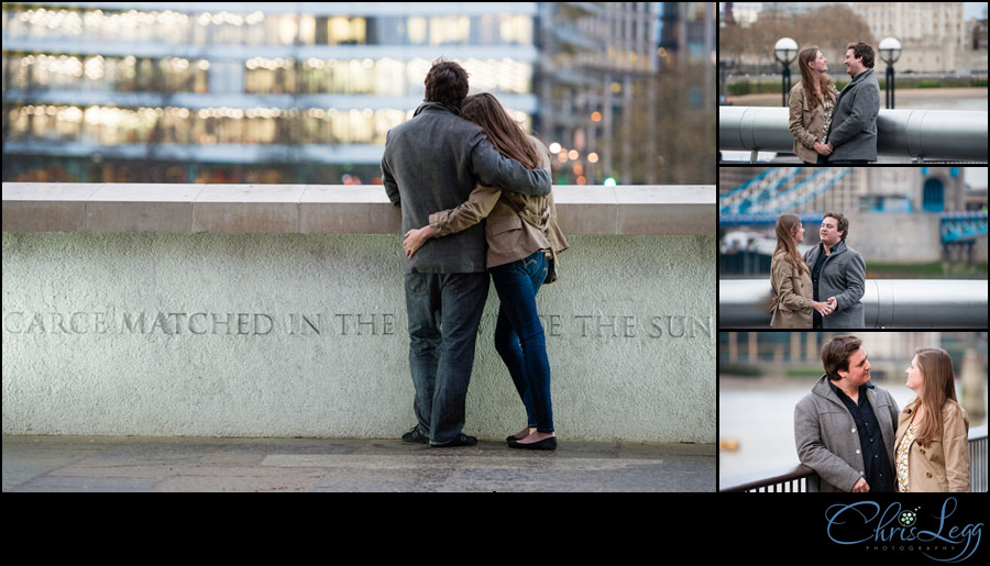 Engagement Photography near Southwark Cathedral