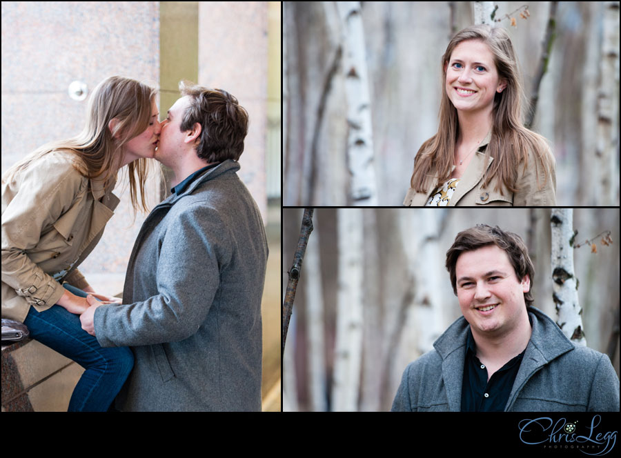 Engagement Shoot in London by the Tate Modern
