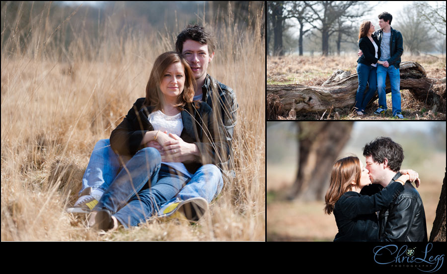 Engagement Photography in Richmond Park, Surrey - 1