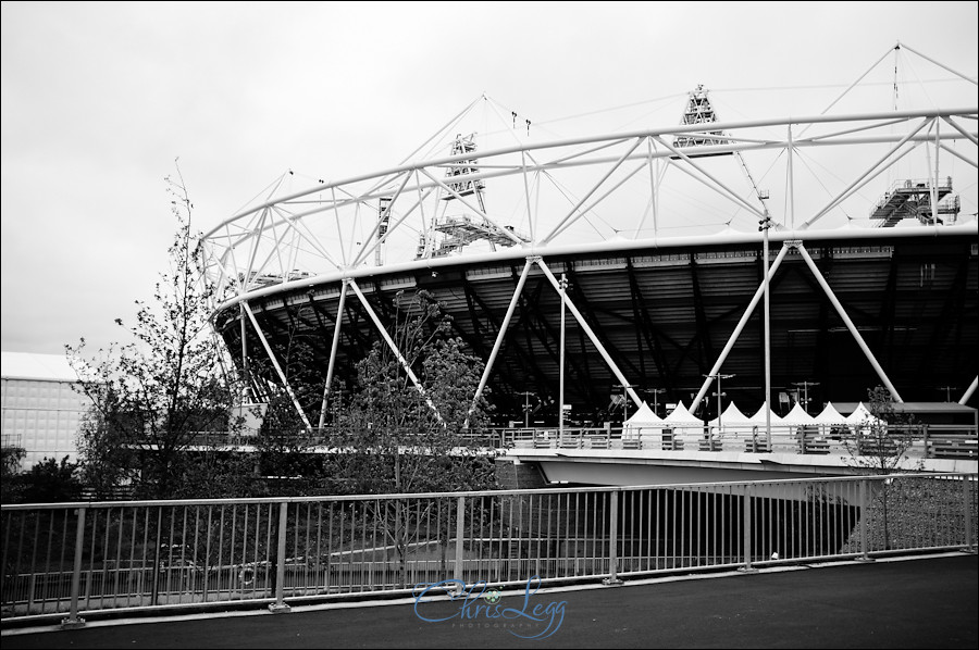 London Olympics Athletic Stadium shot with a Fuji X100