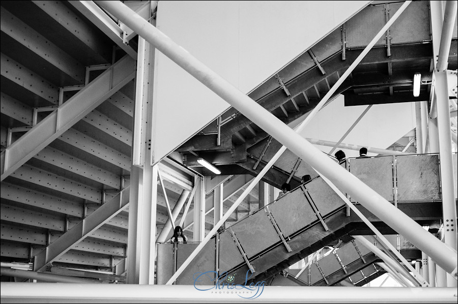 Intricate Geometric Structure of the London Olympics Aquatics Centre