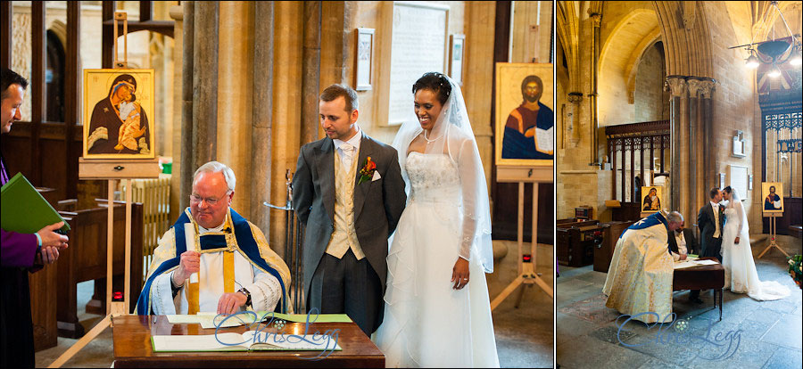 Sherborne Abbey Wedding Photography