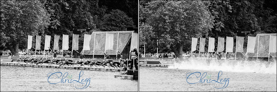 Photography of Alistair Brownlee winning Gold in the London 2012 Olympic Triathlon