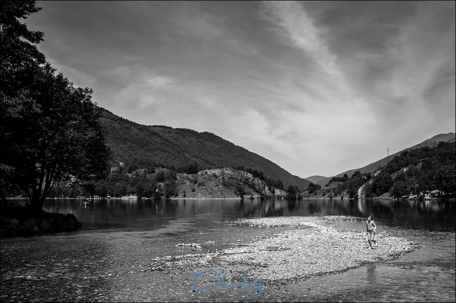 Lac de Genos in the Southern Pyrenees shot with a Fuji X100