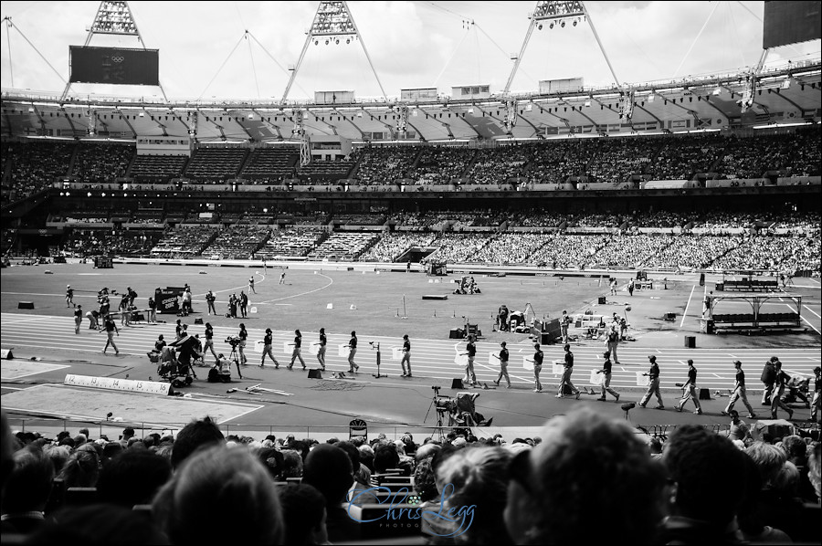 Photography from the Olympic Park and the Athletics Stadium in London
