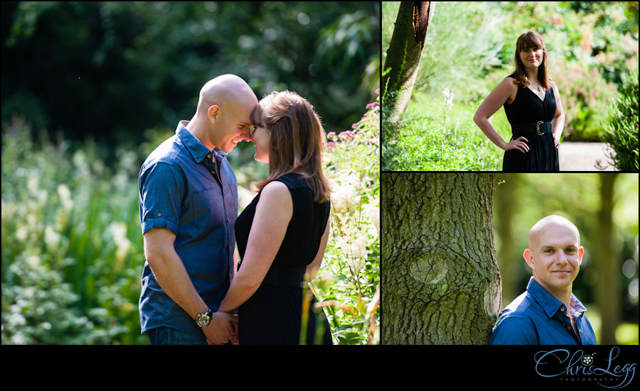 A sunny engagement shoot in Richmond Park