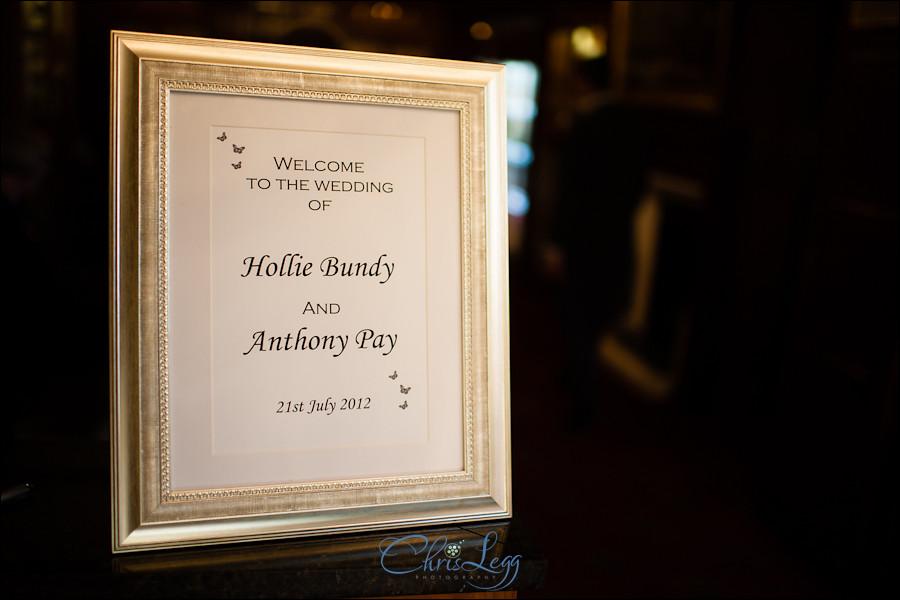 Wedding Photography at Warren House in Kingston, Surrey