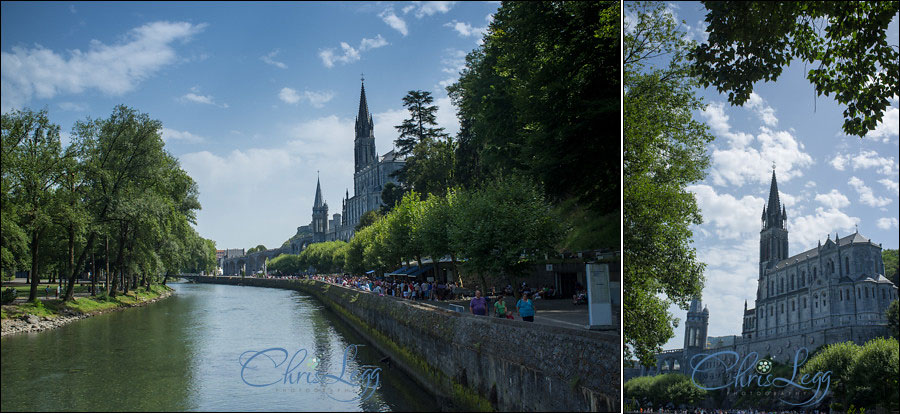 Travel Photography with an X100 in Lourdes, France