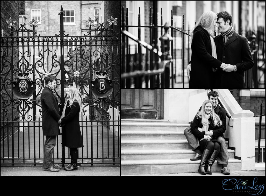 Pre-wedding shoot on the streets of Bloomsbury