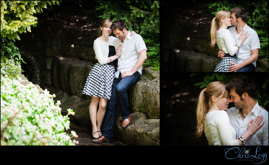 Terrace Gardens Engagement Photography