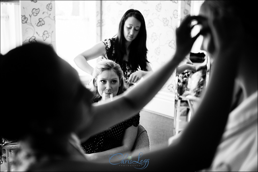 Bridal Preparations at The Chesterfield Hotel