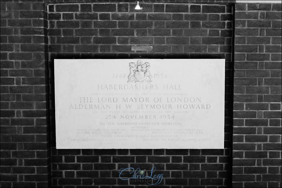 Haberdashers Hall Wedding Photography 032