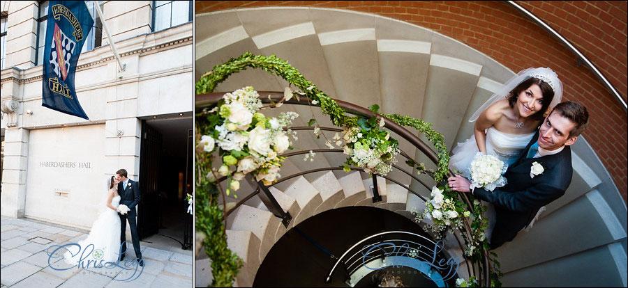 Haberdashers Hall Wedding Photography 050