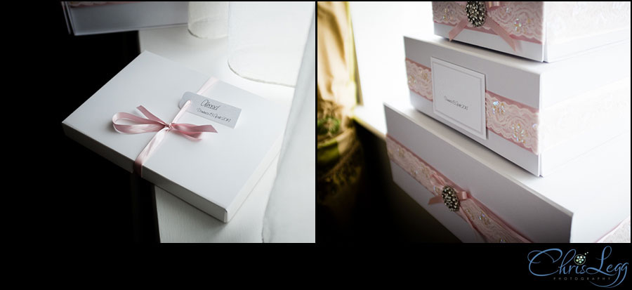 Image of beautifully wrapped Christening presents