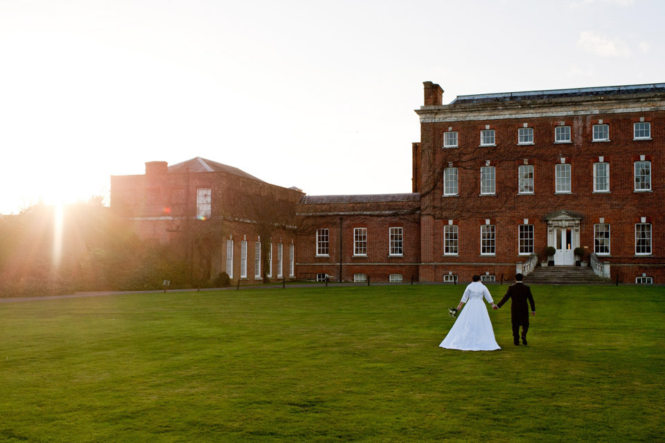 Wedding Photographer at Hall Place in Berkshire