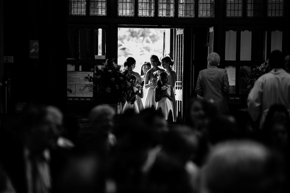 Wedding Photography at Sacred Heart Church in Surrey